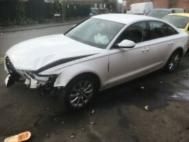 Breaking for spares only AUDI A6 2.0L TDI SE AUTO 2014