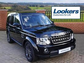 Land Rover Discovery SDV6 GRAPHITE (black) 2016-09-27