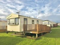 CHEAP STATIC CARAVAN FOR SALE IN AYRSHIRE, SCOTLAND NEAR GLASGOW , LOW SITE FEES WITH NO AGE LIMIT