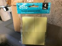 3 boxes of small post it notes