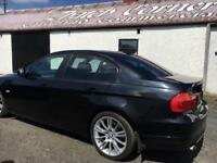2010 BMW 318 2.0 L Diesel Black with black leather