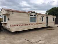 Static caravan ideal for home build