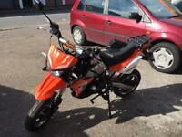Pit bike 125cc road legal