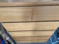 IKEA bedroom furniture (1 x chest of drawers, 2 x bedside...)