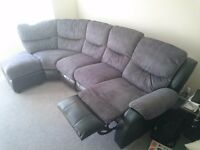 Grey corner sofa for sale