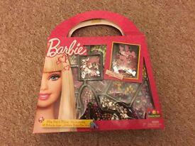 Barbie my jewels bead bag.
