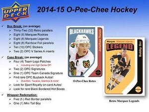 2014-15 Upper Deck O-Pee-Chee Hockey Trading Cards Box Kitchener / Waterloo Kitchener Area image 3