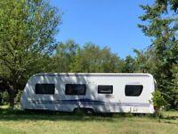 Hobby 720 7 berth caravan for sale - summer ready