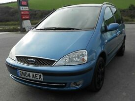 FORD GALAXY 1.9 TDi GHIA 7 SEATER, 1 OWNER, 2004, 92'000 MILES, FSH, NEW MOT, TURBO DIESEL, 6 SPEED