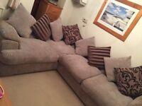 DFS Large corner sofa