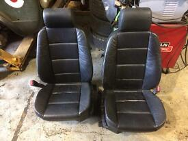 E36 front leather seats