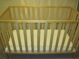 Mothercare cot.