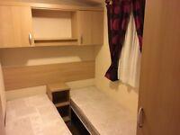 Swift burgundy 2010 static caravan (3 bedroom)