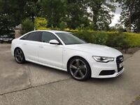 2012 Audi A6 3.0 Tdi Quattro S Line S-Tronic Factory 245BHP *HIGH SPEC 8000 Extras* 3D Google Maps