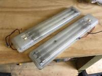 Pair of Labcraft Camper Van Works Lights