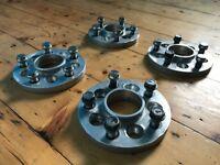 Hub-centric Wheel Spacers / Adapters - VW/Audi/Seat/Skoda/VAG to Audi/Merc/Mini/Porche