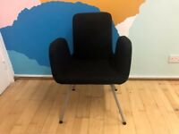 IKEA PATRIK Conference Chair / Dark Grey (4 in total)
