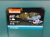BRAND NEW MAKITA CIRCULAR SAW (DCS550RMJ)