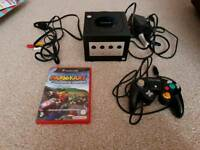 Nintendo Game Cube with Mario Kart Doubledash