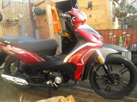 2015 keeway target 125cc scooter