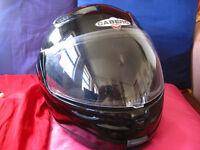 Caberg J1 Plus Flip Front Motorbike Helmet. Medium 57-58cm. Fair Condition - needs some TLC
