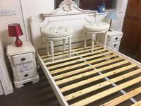 Amore double bed frame * free furniture delivery*