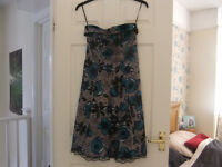 New York Laundry Dress Size 10 Can be Straps or strapless As New Condition