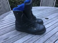 HAIX CHAINSAW BOOTS. SIZE 9.5.