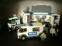 Lego police. Truck,van,motorcycle