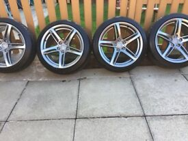 """4x18"""" Brand New Audi Alloys and Tyres"""