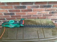 2 x Black & Decker Hedge Trimmers 61cm and 30cm blades in good working condition.