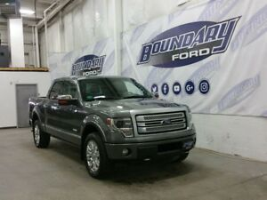 2013 Ford F-150 Platinum W/ Sunroof, Leather, Tailgate Step
