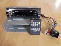 SENDAI CAR CD PLAYER/RADIO WITH AUXILIARY INPUT JACK (PLAYS MP3'S & WMA'S)