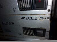 ECLER 1400 W amplifier X 2