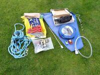 Assorted caravan accessories