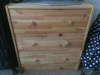 RAST IKEA - Chest of 3 Drawers - £10 - Perfect Condition