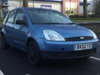 FORD FIESTA 1.3 2003 (52 REG)*£799*LONG MOT*LOW MILES*5 DOOR*CHEAP TO RUN*PX WELCOME*DELIVERY
