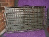 Folding Metal Dog Cage suit Medium size dog