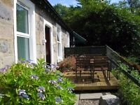 2 Bedroom Unfurnshed Cottage to let. North end of Loch Awe. 18 easy miles on A85 to Oban