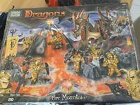 Large collection megabloks dragons