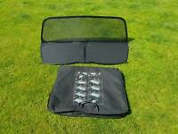 Wind deflector for convertible vw golf or audi a3