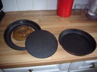 2 non stick sandwich baking tins