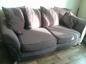 SOFA & SWIVEL CHAIR