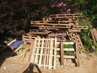 25 FREE wooden pallets, mixture of sizes, collection only