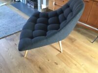 Made Karlton chair . Kestrel grey. Excellent condition , barely used.