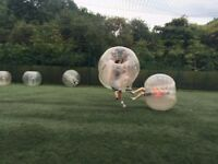 10 x Full Size Bubble Footballs AKA Zorb Footballs (more available)