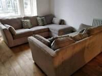 Corner sofa and 3 seater