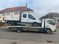 24/7 Cheap Car Van Jeep breakdown Recovery Tow truck service auction vehicle transportation