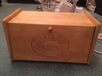 Rustic bread bin