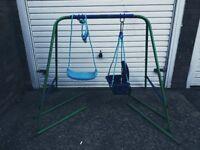 Kids Garden 2 in 1 swing